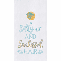 Sunkissed Hair Flour Sack Towels - Set of 6