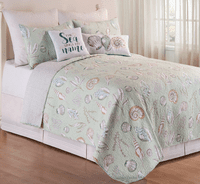Sunset Beach Quilt Mini Set - Full/Queen
