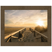 Sunset Path Canvas Art