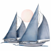 Sunset Sail Wall Art