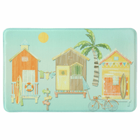 Surf Shacks Memory Foam Mat Collection