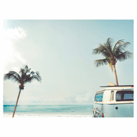 Surf Van Canvas Art