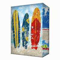 Surfboards Personalized Aluminum Wall Art