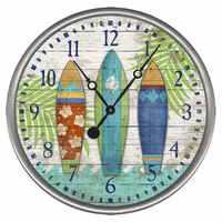 Surfer's Paradise Wall Clock