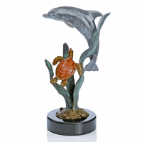 Sweet Dolphin Statue