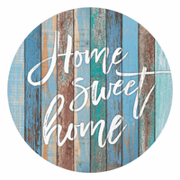 Sweet Home Barrel Top Sign