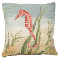 Swimming Seahorse Pillow