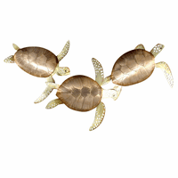Swimming Turtle Trio Wall Art