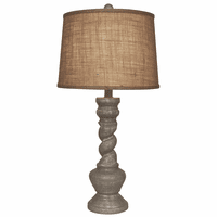 Swirled Dove Table Lamp