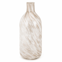 Swirling Sands Tall Glass Vase