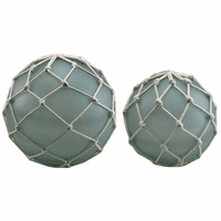 Tabletop Glass Buoys - Set of 2