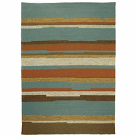 Tahitian Stripe Indoor/Outdoor Rug Collection