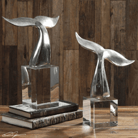 Tails Up Sculptures - Set of 2