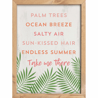 Take Me to the Beach Wall Décor