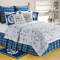 Tales of the Sea Quilt Bedding Collection