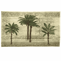 Tall Palms Accent Rug - OUT OF STOCK