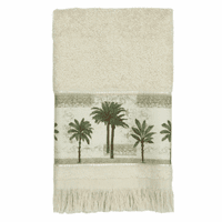 Tall Palms Fingertip Towel - CLEARANCE