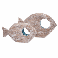 Tasmin Fish with Mosaic Eye - Set of 2