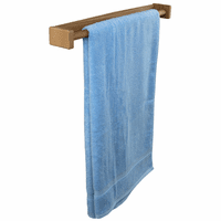 Teak Long Towel Rack