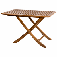 Teak Menora Table