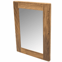 Teak Rectangular Mirror