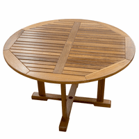 Teak Round Indoor/Outdoor Table
