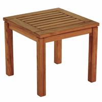 Teak Square Indoor/Outdoor Side Table