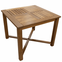 Teak Square Indoor/Outdoor Table