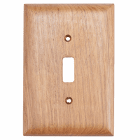 Teak Switch Covers