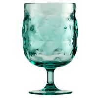 Teal Ripples Glassware Collection