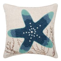 Tenby Coral Pillow