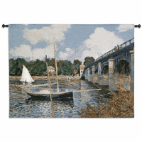 The Bridge at Argenteuil Wall Tapestry