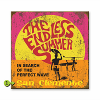 The Endless Summer Square Personalized Sign - 28 x 28