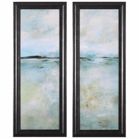 Thoughtful Framed Prints - Two Piece Set