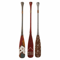 Three Oars Wall Décor - Set of 3