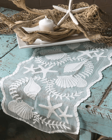 Tidal Wave Lace Runner