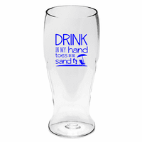 Toes in the Sand Beer Tumblers - Set of 4