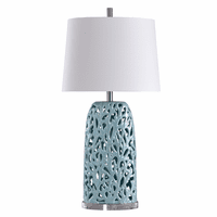 Tonga Reef Blue Coral Table Lamp