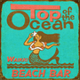 Top of the Ocean Personalized Sign - 28 x 28