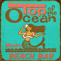 Top of the Ocean Personalized Signs