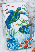 Tortoise Reef Kitchen Towel