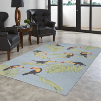 Toucan Island Rug Collection