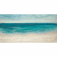 Tranquil Beach Canvas Art