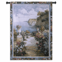 Tranquil Overlook Wall Tapestry
