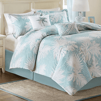 Tranquil Palms Bed Set - Full - OVERSTOCK