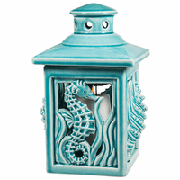 Tranquil Seascape Candle Lantern