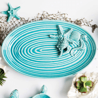 Tranquil Seascape Platter - CLEARANCE