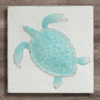 Tranquil Turtle Metal Wall Art