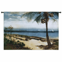 Tropical Coast Wall Tapestry
