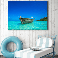 Tropical Contemplation Canvas Art